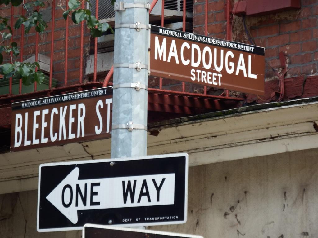 Macdougal and Bleecker – a Village hub