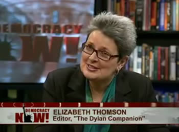 Liz Thomson on Democracy Now!