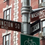 Washington Square Signage